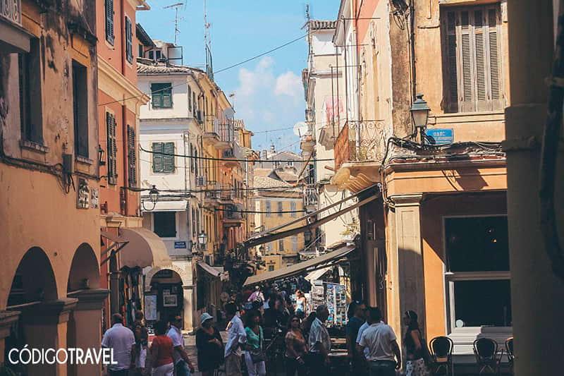 Ciudad-Corfu