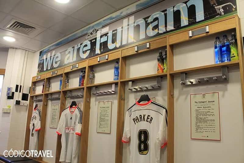 Vestuario Fulham