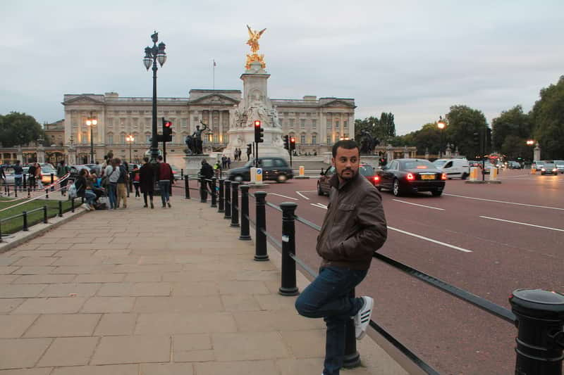 Exteriores Buckingham Palace
