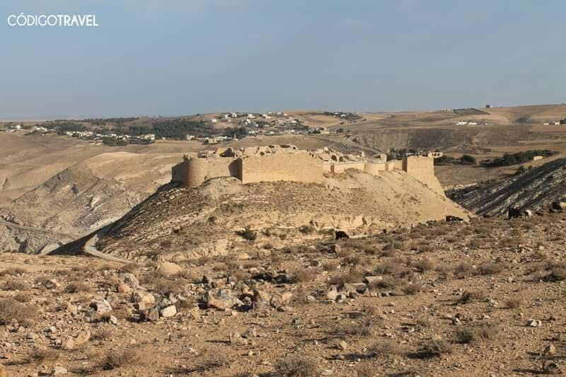castillos desierto jordania