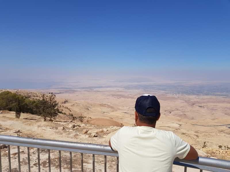 panoramica monte nebo