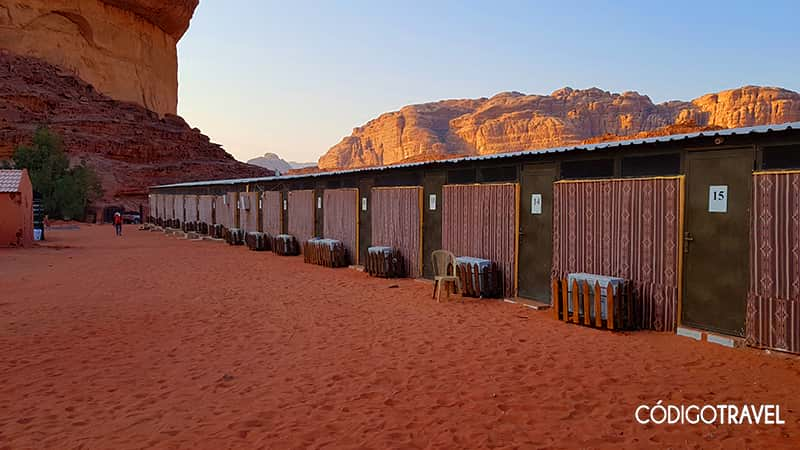 Habitaciones Hillawi Camp Wadi Rum