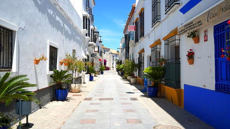 calles de chipiona