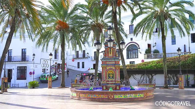 plaza de españa vejer