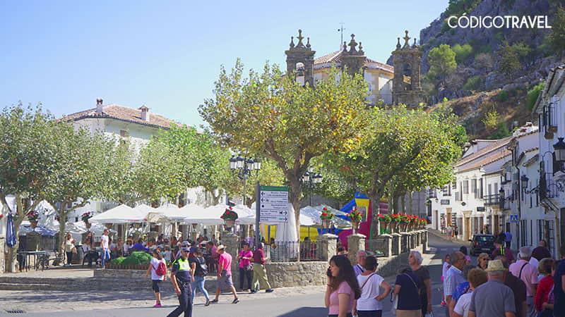 plaza de españa grazalema