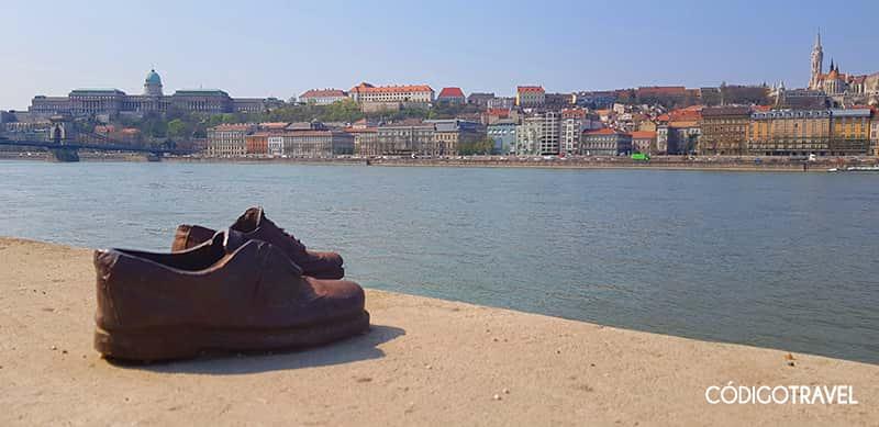 monumento zapatos budapest